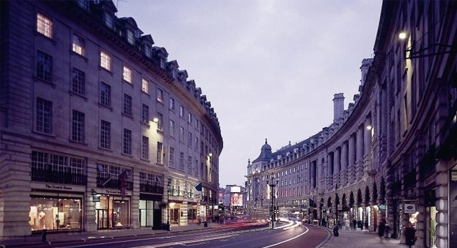 Regent Street and Carnaby Street